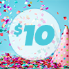 d.$10 Let's Party eGift Card