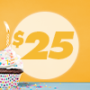 c.$25 Let's Party eGift Card
